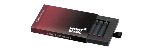 Montblanc - Fountain Pen Cartridges - Burgundy Red (bordeaux)