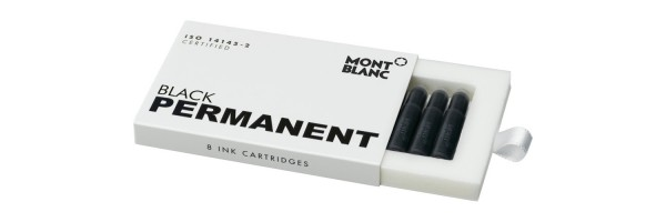 Montblanc - Fountain Pen Cartridges - Permanent Black