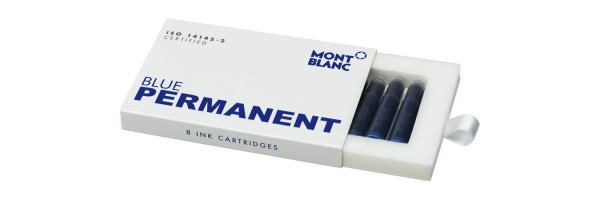Montblanc - Fountain Pen Cartridges - Permanent Blue