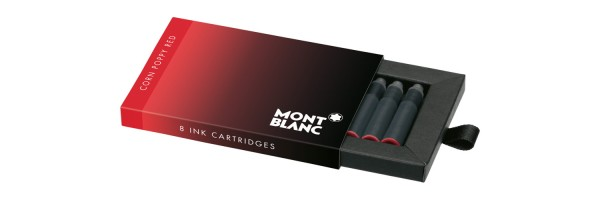 Montblanc - Fountain Pen Cartridges - Corn Poppy Red
