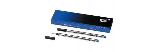 Montblanc - 2 x Refill Roller - Pacific Blue (blu) M ( Medio )
