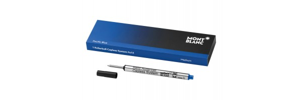 Montblanc - Refill Roller Capless - Pacific Blue (Blu) M ( Medio )