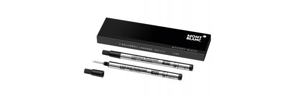 Montblanc - 2 x Refill Roller LeGrand - Mystery Black (Nero) F ( Fine )