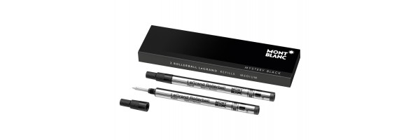 Montblanc - 2 x Refill Roller LeGrand - Mystery Black (Nero) M ( Medio )