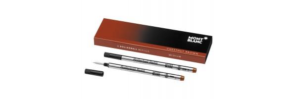 Montblanc - 2 x Refill Roller - Chestnut Brown (Marrone) M ( Medio )
