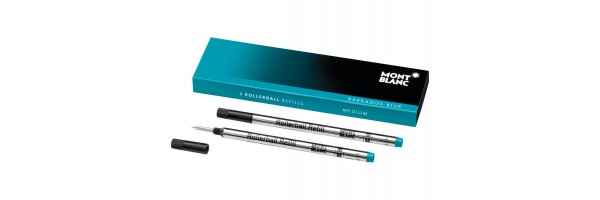 Montblanc - 2 x Refill Roller - Barbados Blue (Blu Caraibi) M ( Medio )
