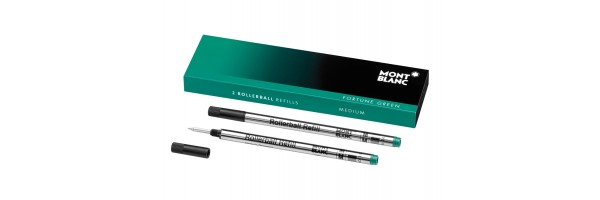 Montblanc - 2 x Refill Roller - Fortune Green (Verde) M ( Medio )