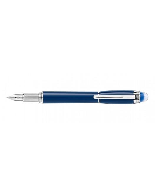 Montblanc - Starwalker - Blue Planet Resin - Fountain Pen