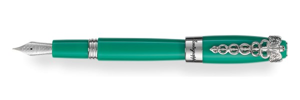 Montegrappa - Caduceus - Medical Green Fountain Pen