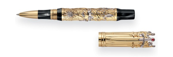 Montegrappa - The Game Of Thrones Limited Edition - Roller Oro Massiccio