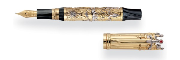 Montegrappa - The Game Of Thrones Limited Edition - Fountain Pen Solid Gold