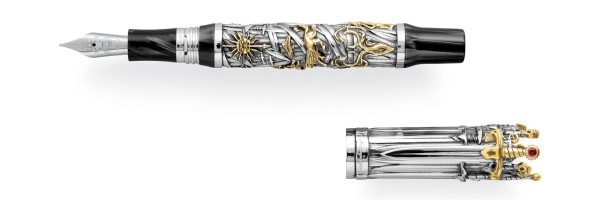 Montegrappa - The Game Of Thrones Limited Edition - Stilografica Argento
