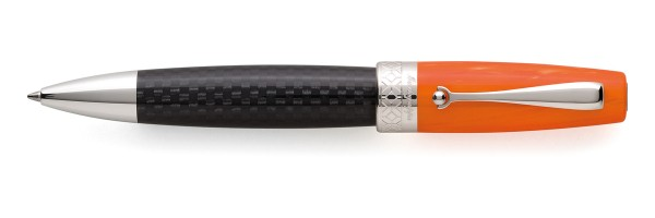 Montegrappa - Miya Carbon -  Orange - Ballpoint