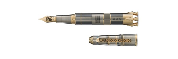 Montegrappa - Moon Landing L.E. - Titanium and Gold - Fountain Pen