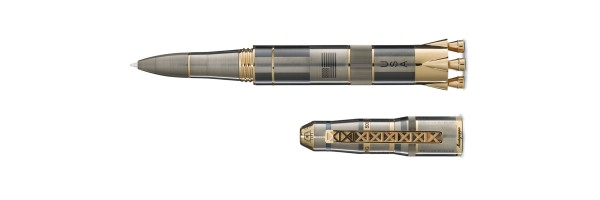 Montegrappa - Moon Landing L.E. - Titanium and Gold - Rollerball Pen
