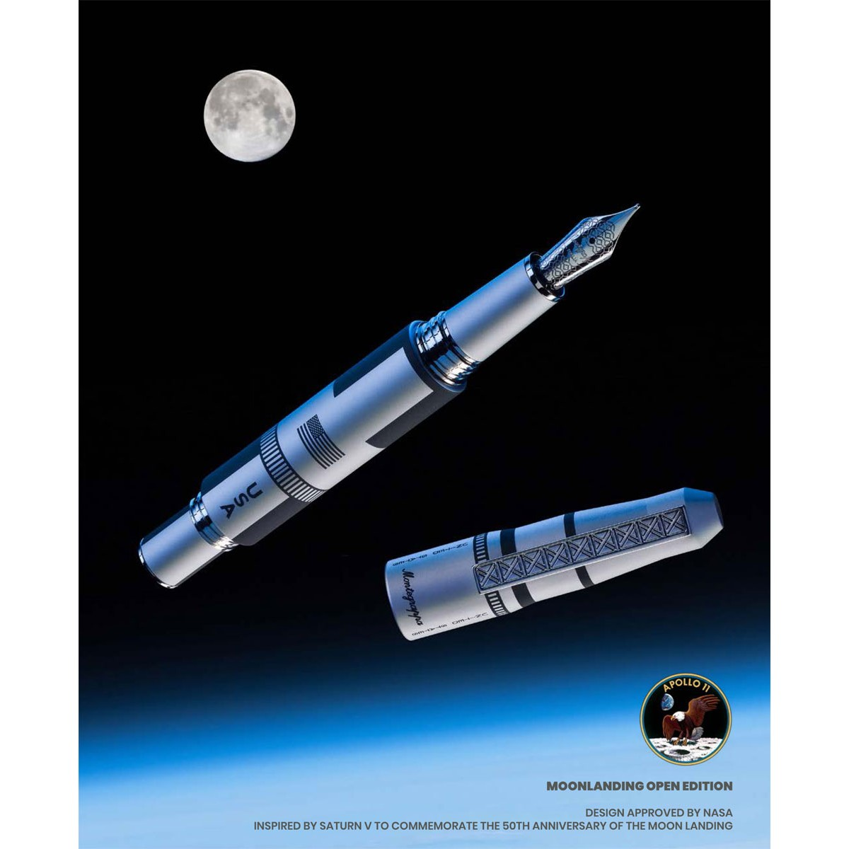 Montegrappa - Moon Landing - Fountain Pen