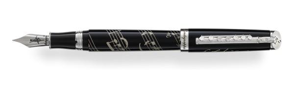 Montegrppa - Tchaikovsky Cigno Nero - Fountain Pen