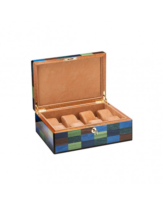Morici - Cannaregio Watch Case - Laquered wood - 8seats
