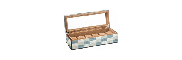 Morici - Laguna Watch Case - Laquered wood - 6 seats