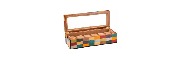 Morici - Rialto Watch Case - Laquered wood - 6 seats