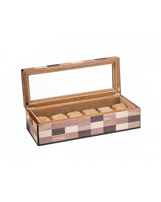 Morici - Sestiere Watch Case - Laquered wood - 6 seats
