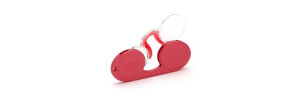 Nooz - Reading glasses - Oval - Tomato