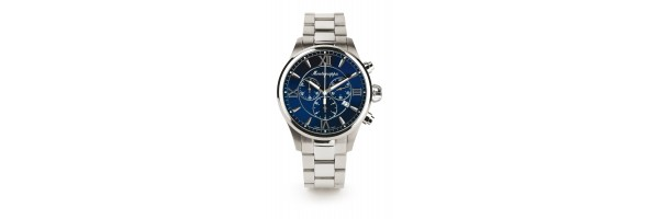Montegrappa - Watch - Chronograph Fortuna - Steel Blue - Steel