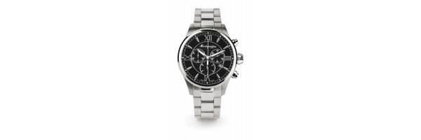 Montegrappa - Watch - Chronograph Fortuna - Steel Black - Steel