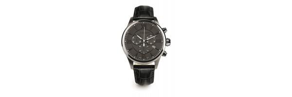 Montegrappa - Watch - Chronograph Fortuna - Gun Metal - Black