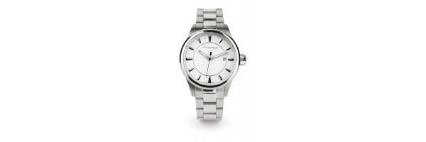 Montegrappa - Watch - Solo Tempo Fortuna - Steel Silver - Steel