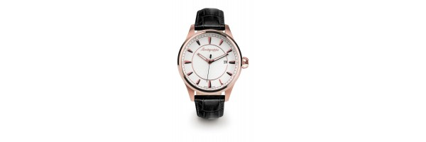 Montegrappa - Watch - Solo Tempo Fortuna - Rose Gold - PVD