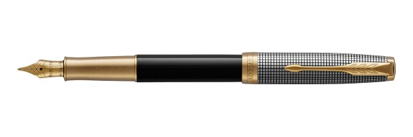 Parker - Sonnet - Customed Chiselled GT - Fountain Pen
