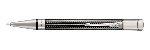 Parker - Duofold - Prestige Black Chevron CT - Penna a sfera