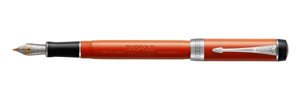 Parker - Duofold - Classic International - Big Red CT Vintage - Fountain Pen