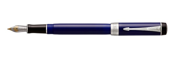 Parker - Duofold - Classic International - Blue CT - Fountain Pen