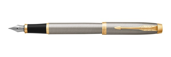 Parker - IM - Brushed Metal GT - Stilografica