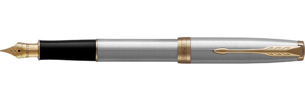 Parker - Sonnet - Stainless Steel GT - Stilografica