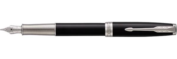 Parker - Sonnet - Lacca nera CT Premium - Stilografica