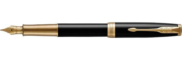 Parker - Sonnet - Lacca Nera GT Premium - Stilografica