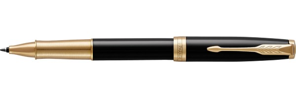 Parker - Sonnet - Lacca nera GT Premium - Roller