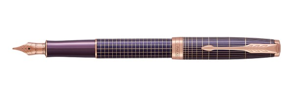 Parker - Sonnet Purple Matrix Chiselled - Stilografica