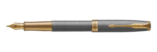 Parker - Sonnet - Sterling Silver Ciselè GT - Fountain Pen