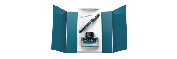 Pelikan - Classic M205 - Aquamarine - Fountain Pen