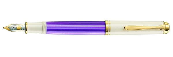 Pelikan - Souverän® M600 - Violet-White  - Penna Stilografica