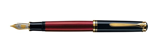 Pelikan - Souverän 400 - Red Black - Fountain Pen