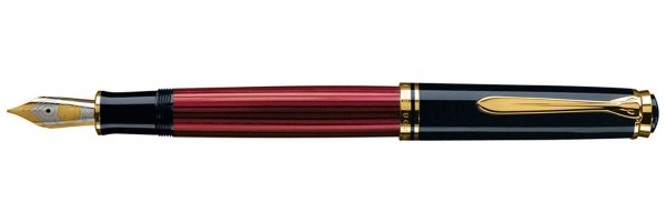 Pelikan - Souverän 800 - Red Black - Fountain Pen