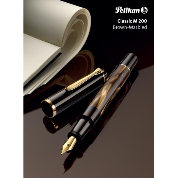 Pelikan - Classic 200 Brown Marbled