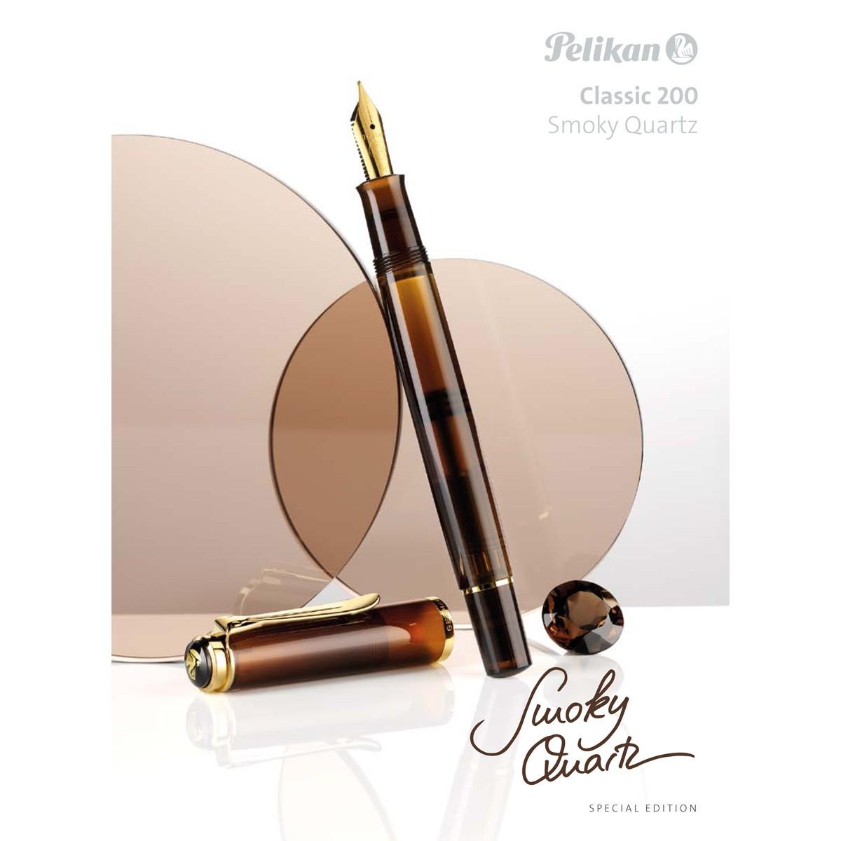 Pelikan - M200 Smoky Quartz / Ink - Stilografica