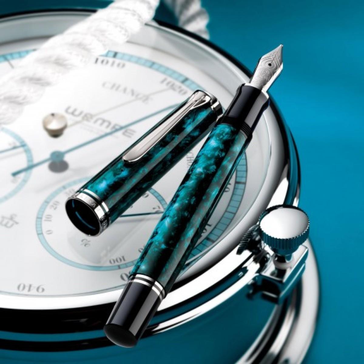 Pelikan - M805 Ocean Swirl - Stilografica