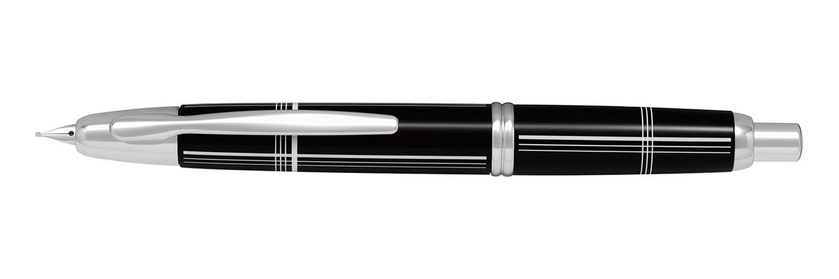 Pilot - Capless - L.E. 2018 Crossed Lines - Fountain Pen